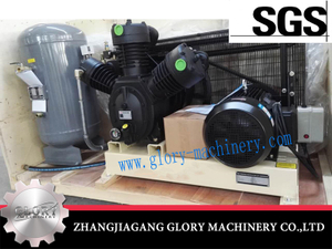 Air compressor for the blowing machine