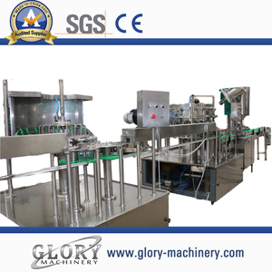 2000bph split type carbonated drink filling line