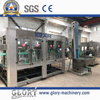 5000bph carbonated drink filling line with bopp hot melt labeling machine