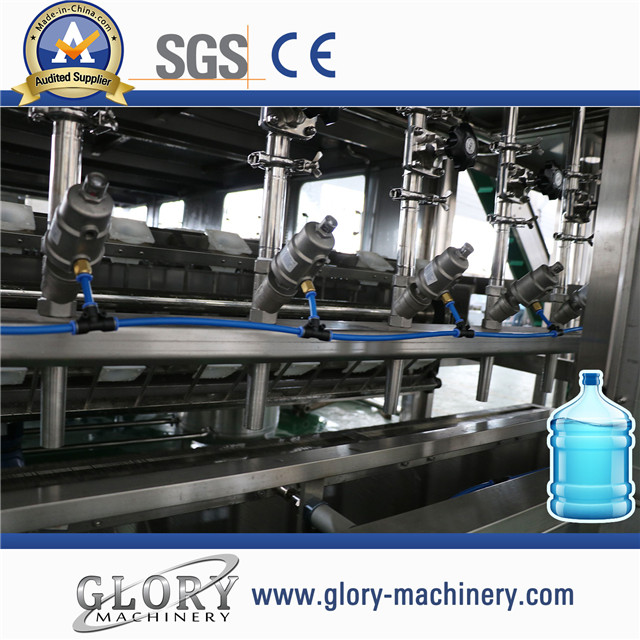 new type 900BPH 5 Gallon barreled water filling machine