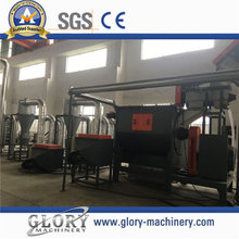 PE,PP plastic film cleaning and recycling line