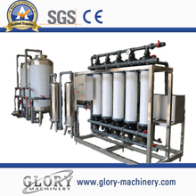 8000L/H drinking water treatment machine with double stages RO
